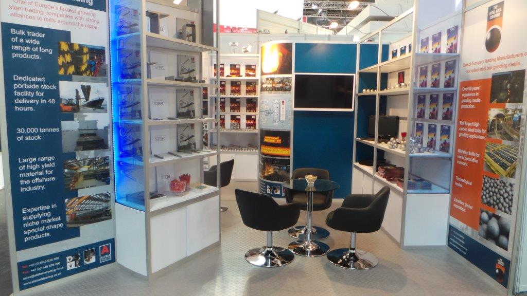 Trade Stands Crufts 2014 : Exhibiting at tube all steels international